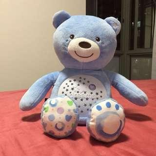 Chicco musical and light teddy bear