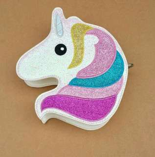 unicorn sling bag 650p high quality. try lng muna kaya konti lng stock