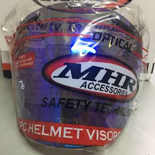 Visor MHR OF518 Ram III Day Night Semi Blue [CTBL/WT]