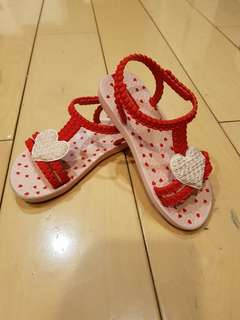 Ipanema Pink & Red Sandal USA 8