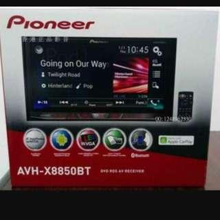 Pioneer AVH-X8850BT Apple CarPlay Dual Usb Hi-End Player