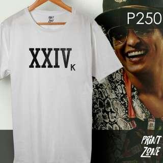 BRUNO MARS Shirt - XXIV K 24K Magic