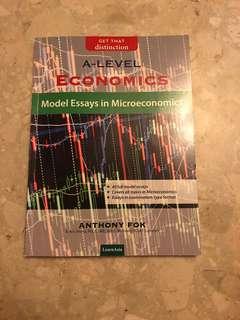 H2 Economics A level Model Essays in Microeconomics