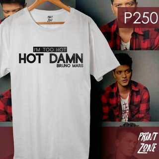 BRUNO MARS Shirt - Hot Damn