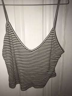 Brandy melville stripped tank