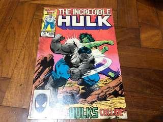 The Incredible Hulk #326 Dec 1986