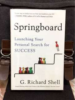 # Highly Recommended《New Book Condition +A New Way To Look At Success From Inside-Out To Transform Your Life》G. Richard Shell - SPRINGBOARD : Springboard : Launching Your Personal Search for SUCCESS