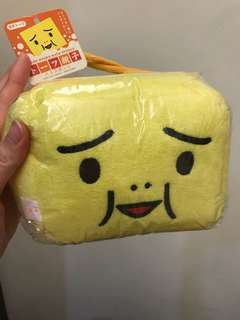 🚚 日本豆腐人 豆腐親子沐浴海綿 囧臉人