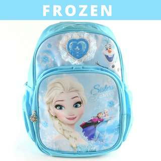 Disney School Bag for Primary School-Frozen (Design A)