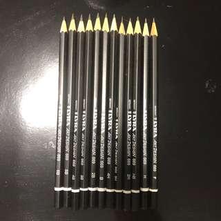 LYRA art design 12 set school pencils from Germany