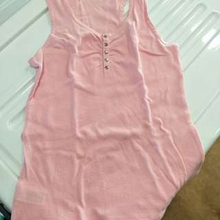 Mango pink sleeveless