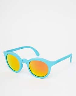 Sunpocket 鏡面可折疊太陽眼鏡