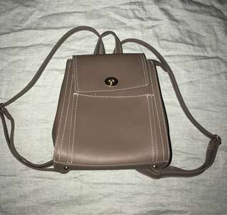 Stylish leather Backpack