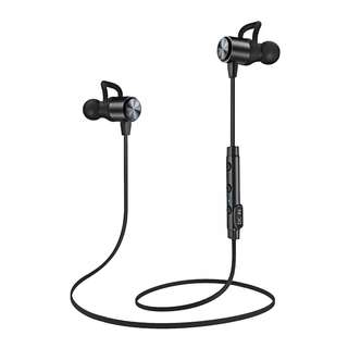 Wireless Headphones, Bluetooth headset, ATGOIN Lightweight Bluetooth Earbuds, Sweatproof Stereo Wireless Earbuds Noise Cancelling Wireless Earphones Fit for Gym Sports with Built-in Mic