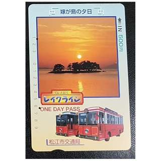 (HA63) 日本 火車 地鐵 車票 MTR TRAIN TICKET, $8