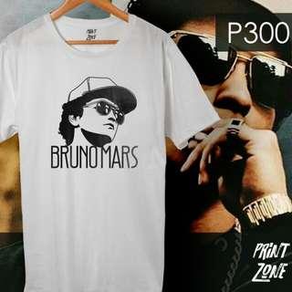 BRUNO MARS Vector Shirt