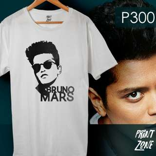 BRUNO MARS VECTOR SHIRT