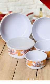 Bekas makanan bowl 5pcs