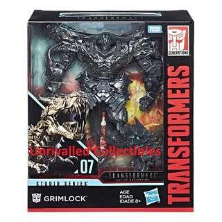[In hand] Hasbro Transformers Studio Series (TSS) Leader Class AOE Grimlock