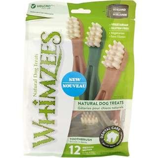 Whimzees Toothbrush 12 medium - buy 2 get 1 free