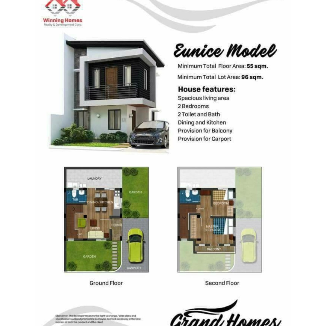 3 Bedroom House and Lot in Grand Homes(Evita Model) Antipolo For ...