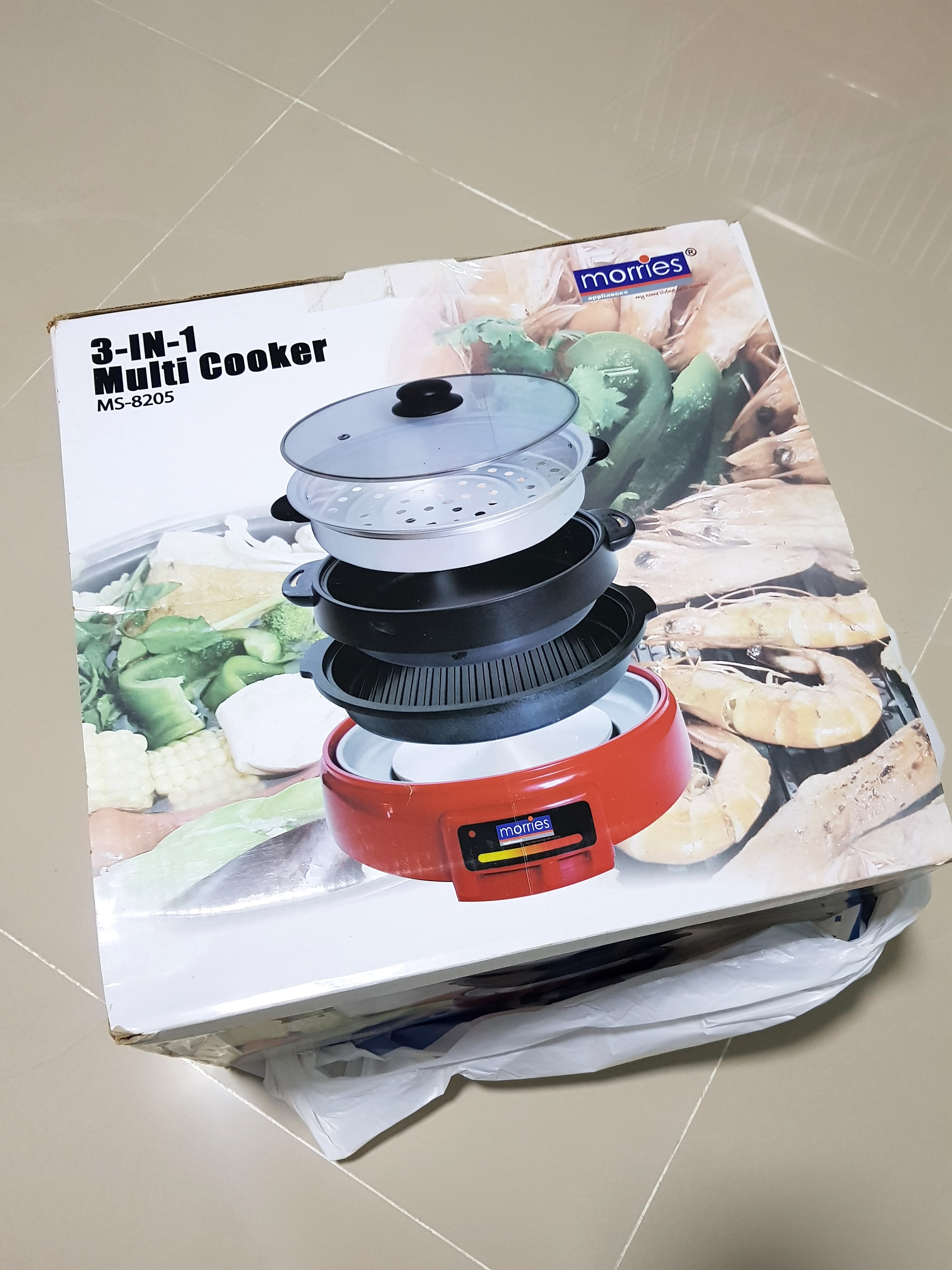 3 In 1 Multi Cooking