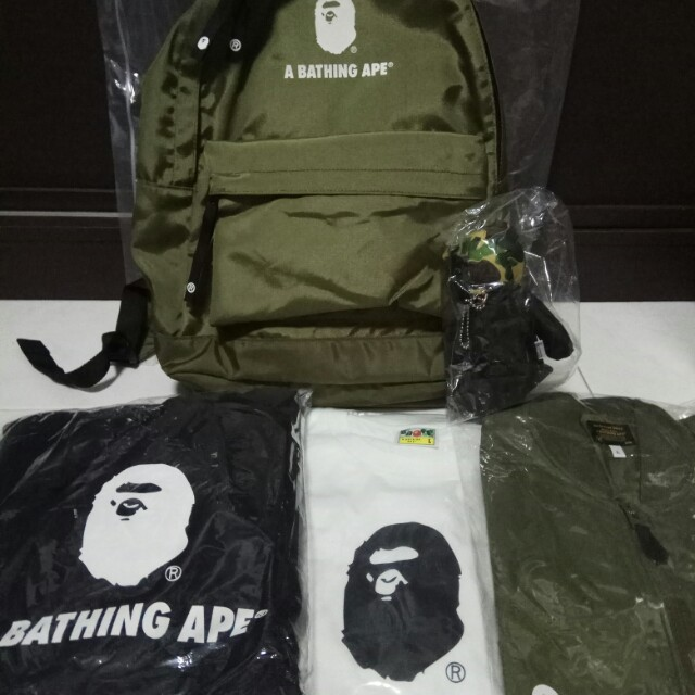 e9ef42e8 A Bathing Ape Happy New Year 2018 Pack supreme rare bape, Men's Fashion,  Clothes on Carousell