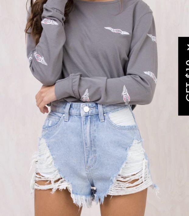 A Brand - Fire cracker Shorts size 10