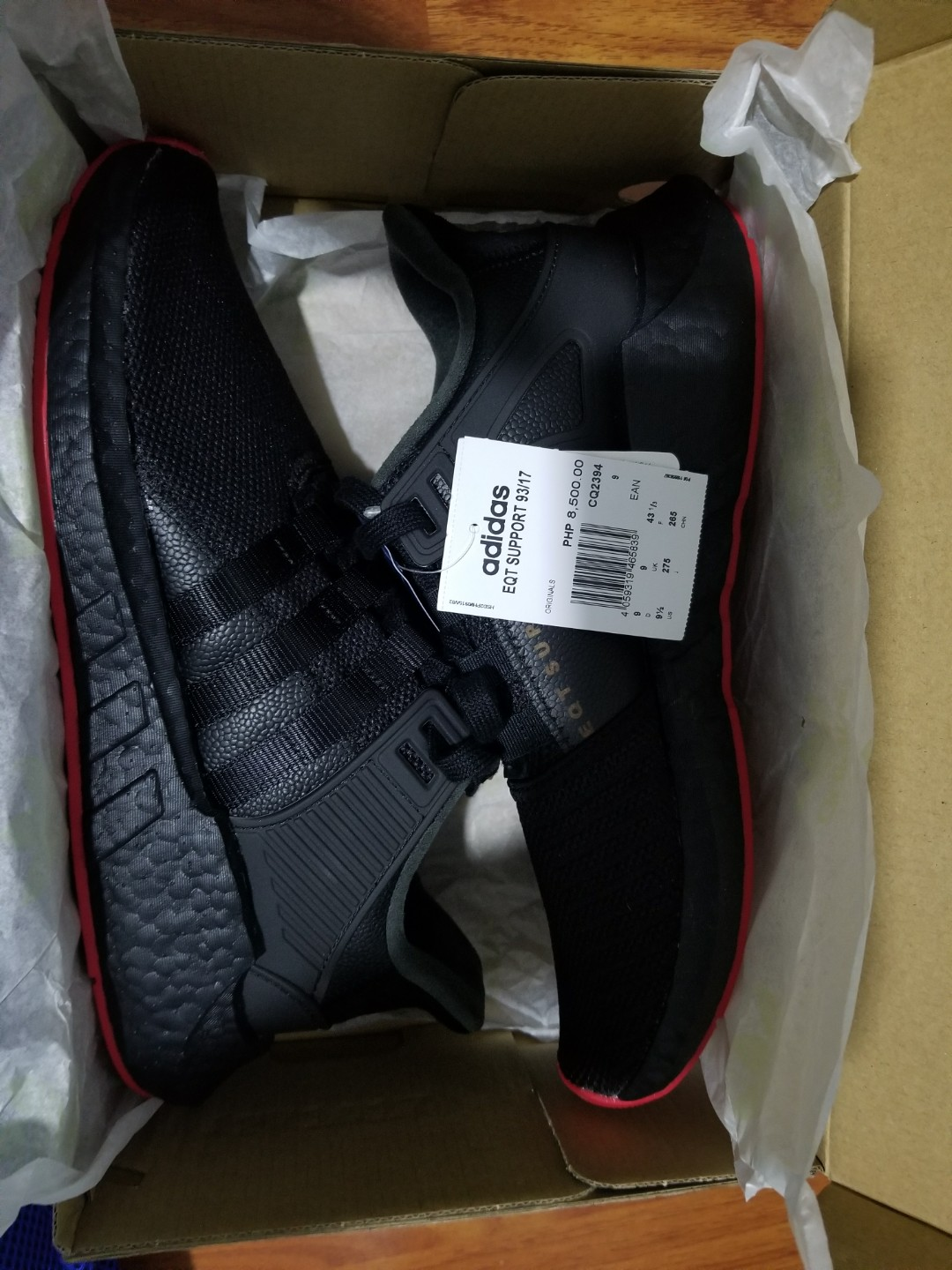 huge selection of 9e52a cfeab ... Pack fast Adidas EQT Support 9317 Running Shoes Men cq2394 -SH Sports  shoes Share This Listing ...