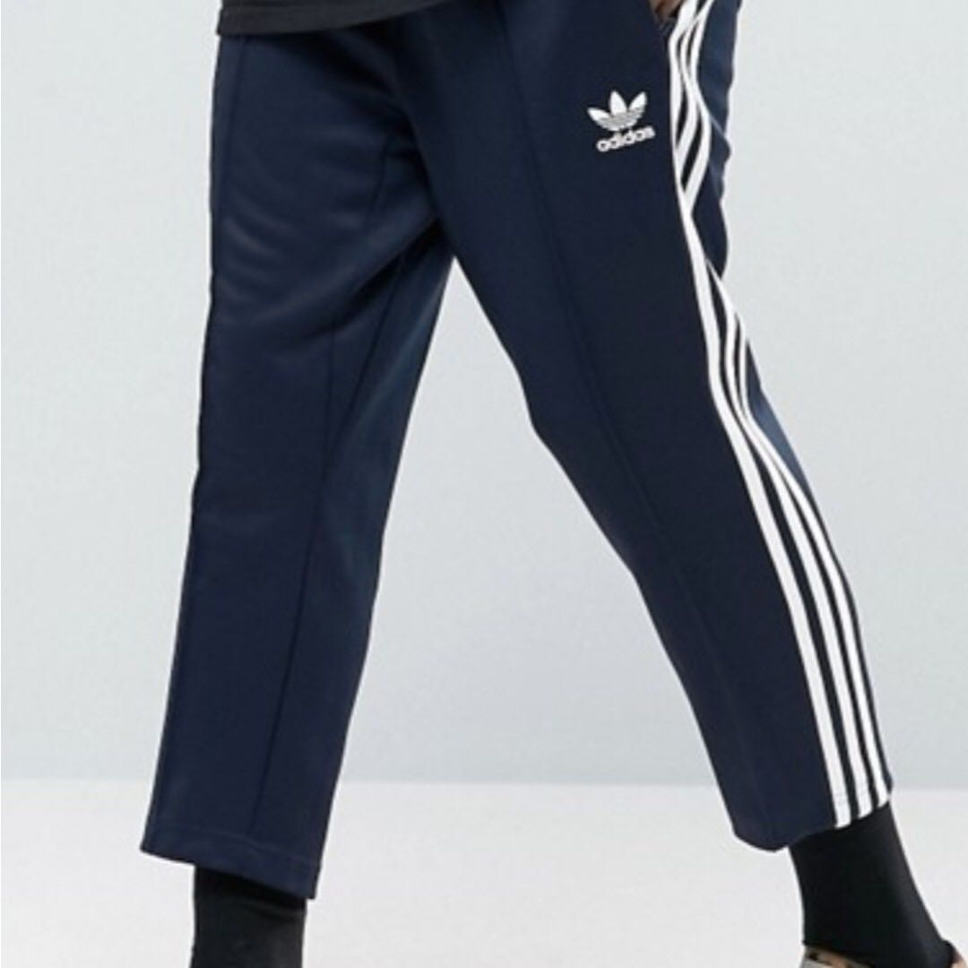 61dc3b207de1 adidas Originals SST Relax Cropped Joggers In Blue