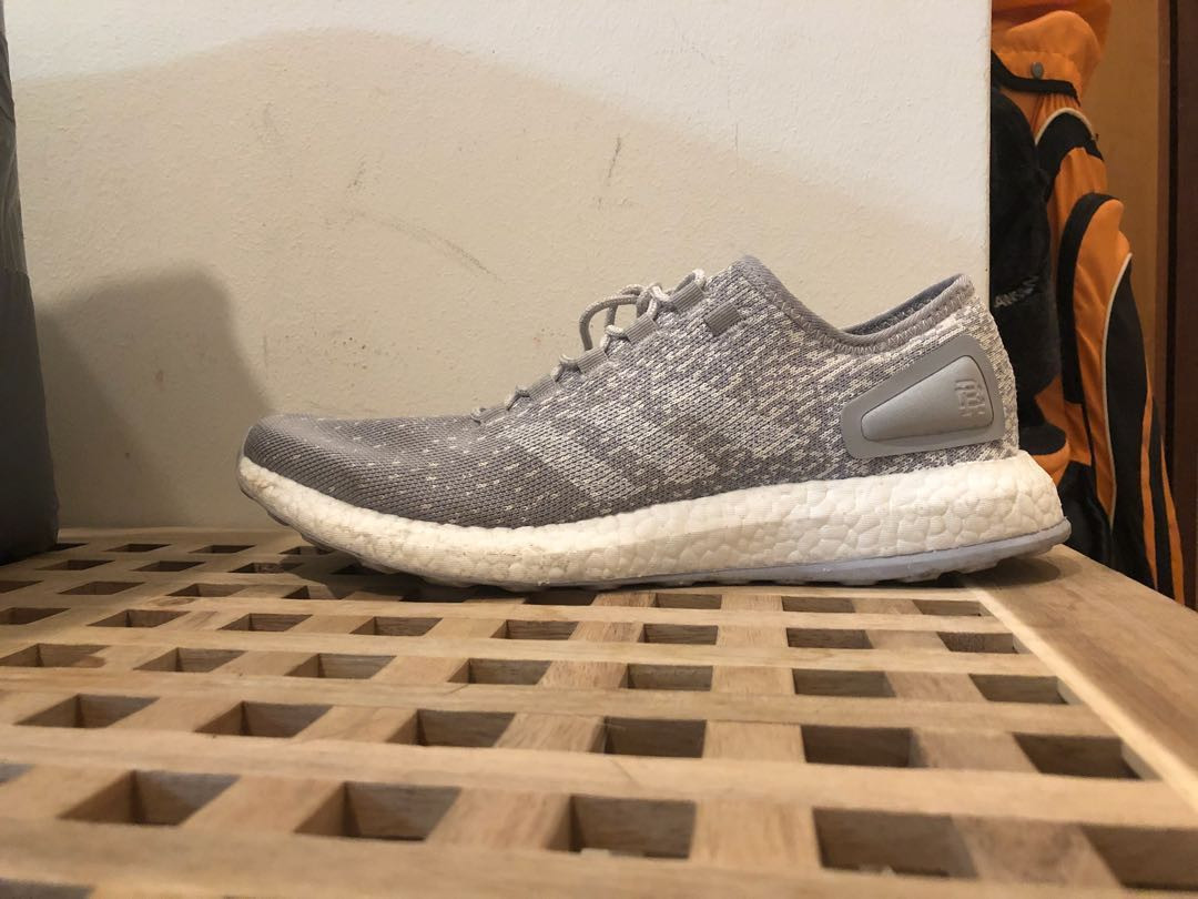 34f667679129 Adidas x Reigning Champ Pure Boosts Grey