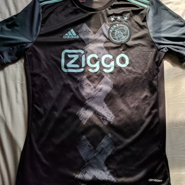 e9c4323772c Ajax Amsterdam 2016/2017 Authentic Away Jersey, Men's Fashion, Clothes on  Carousell