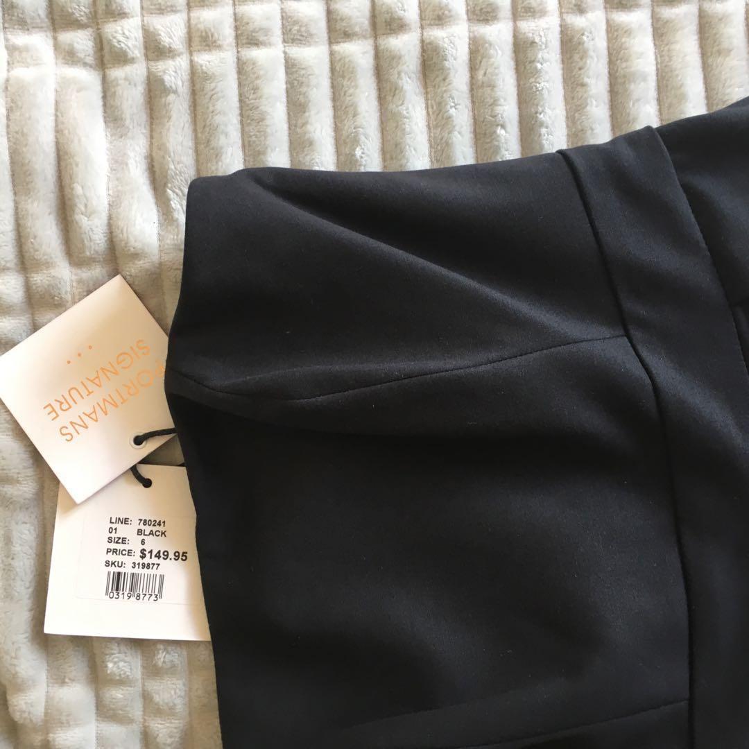 Amazing strapless pantsuit