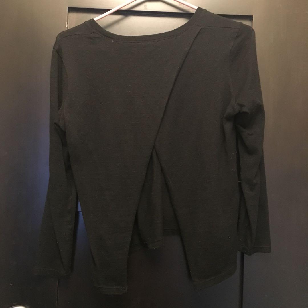 Aritzia Babaton Open Back Sweater