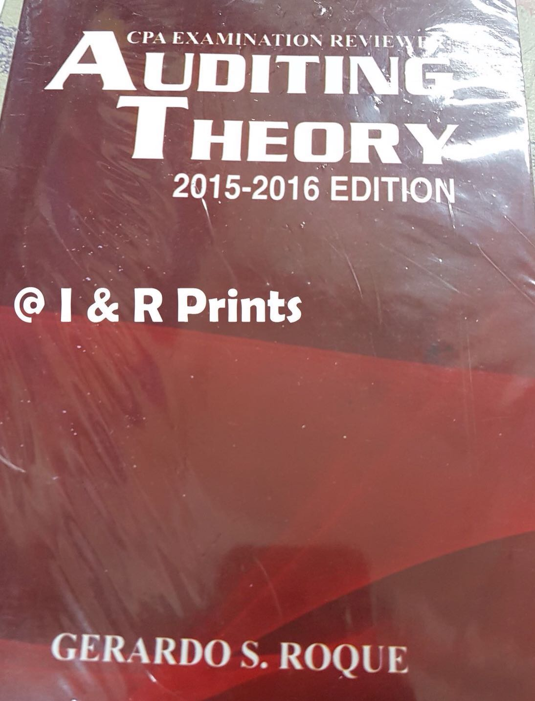 Auditing Theory by Roque