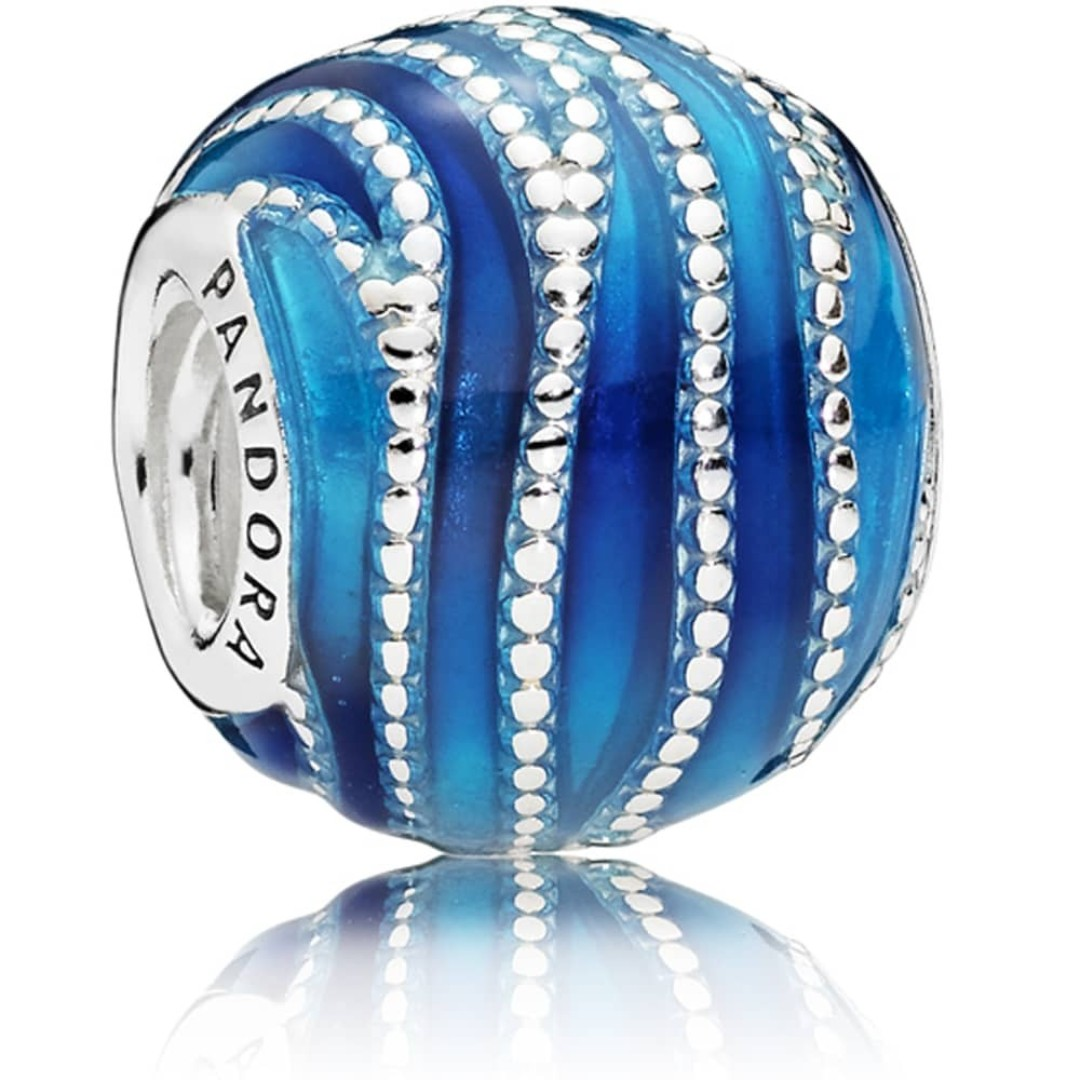 Pandora Women Silver Bead Charm - 797012ENMX guBwf5