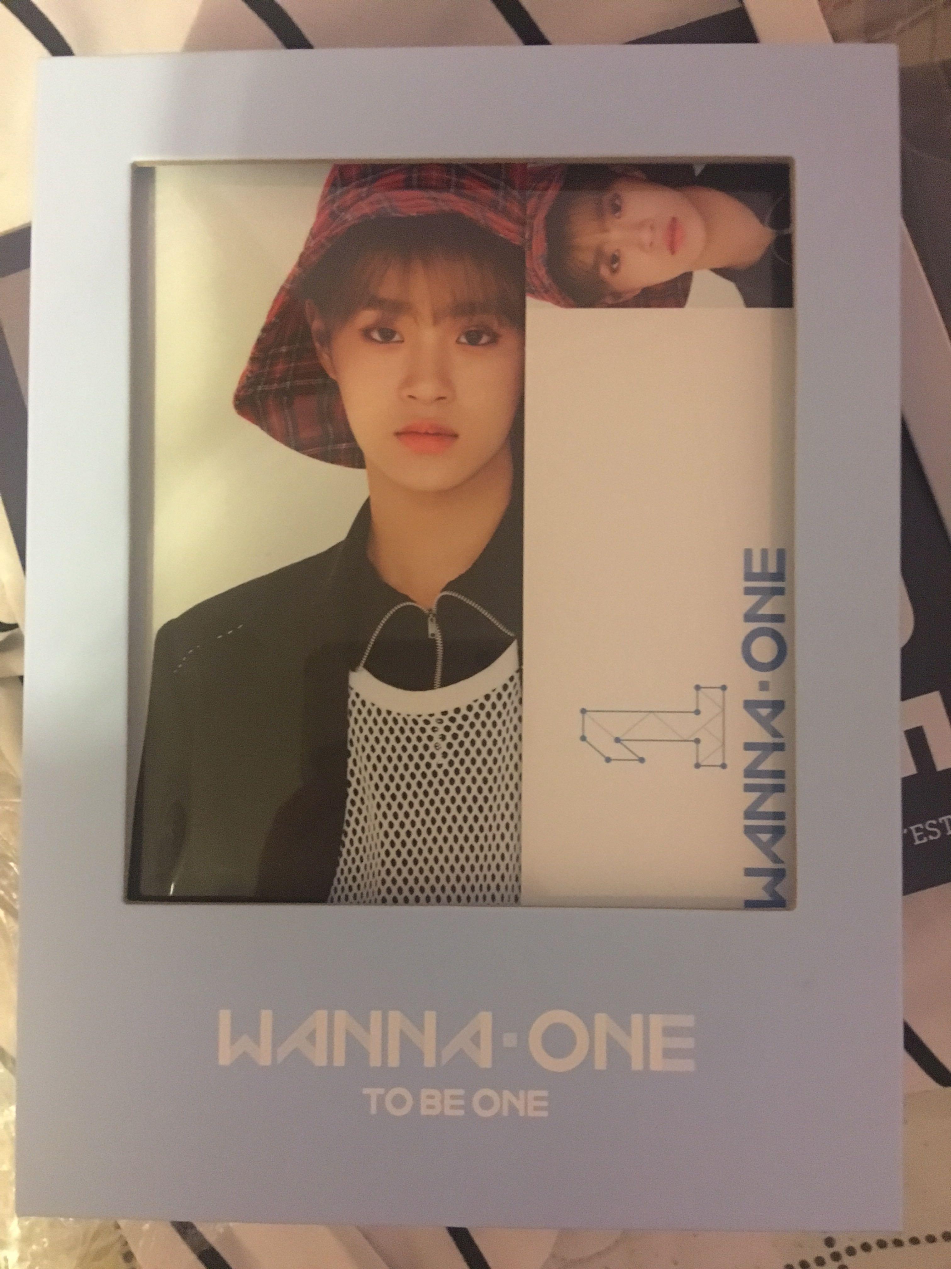 [Autographed- MWAVE] Wanna One: To Be One (sky)