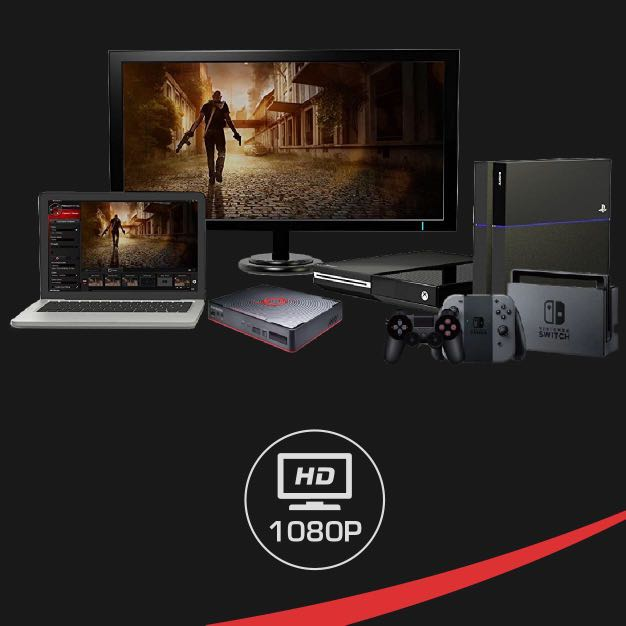 AVerMedia Game Capture HD 2 Stream, Record & Share your PS4