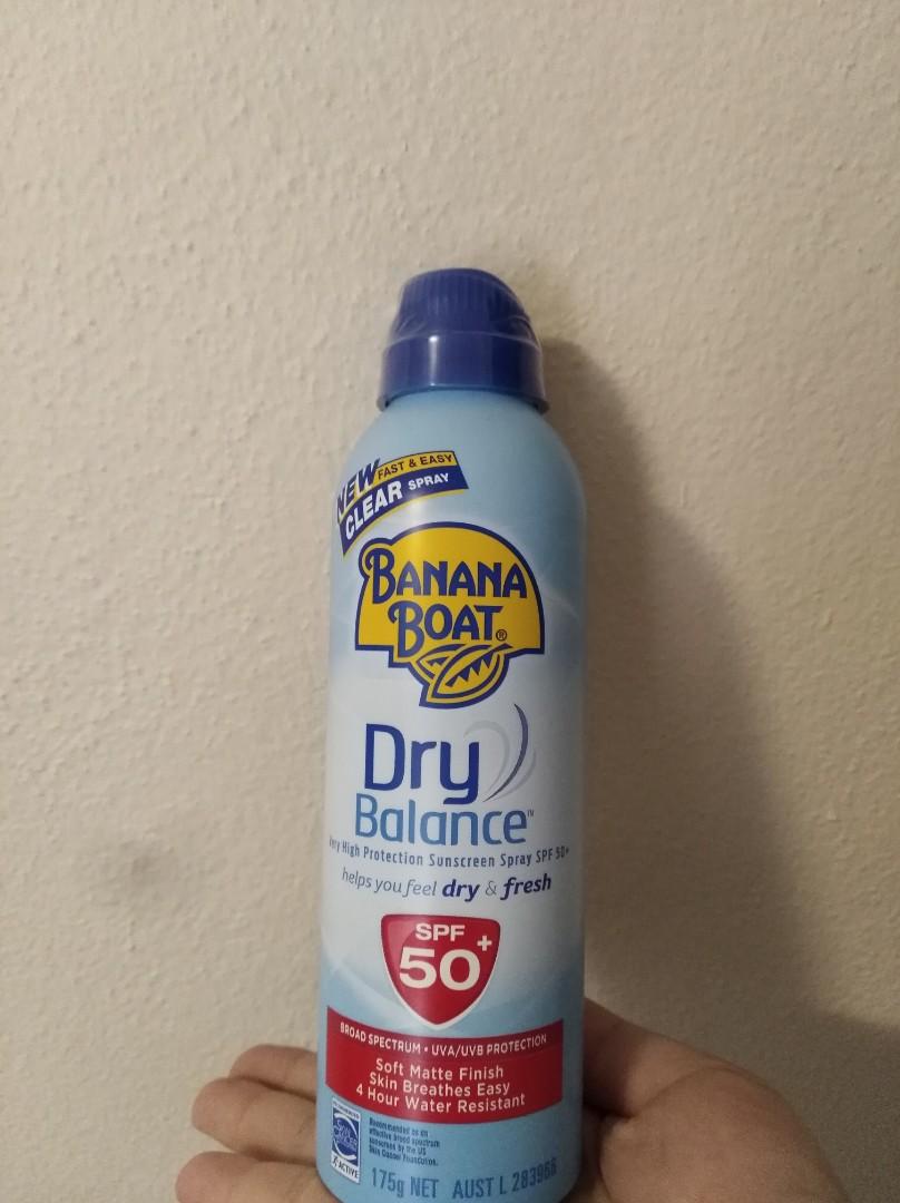 Banana Boat Dry Balance Sunscreen