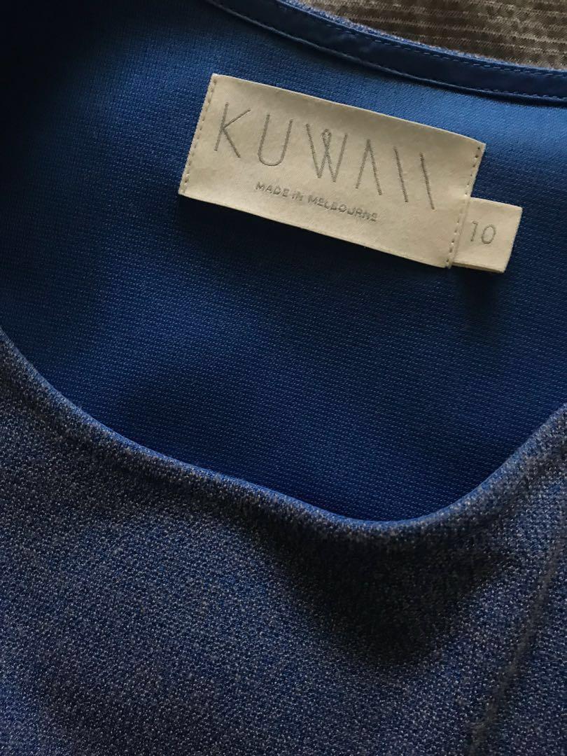 Blue Kuwaii dress