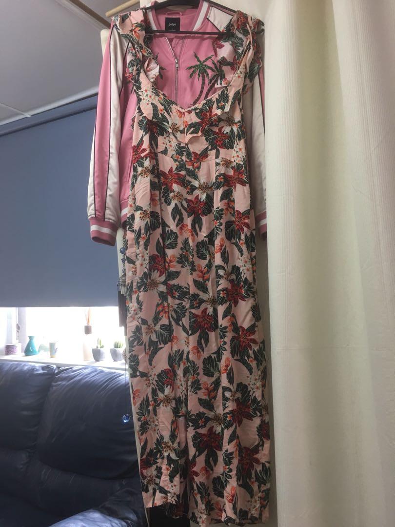 Brand new floral jumpsuit