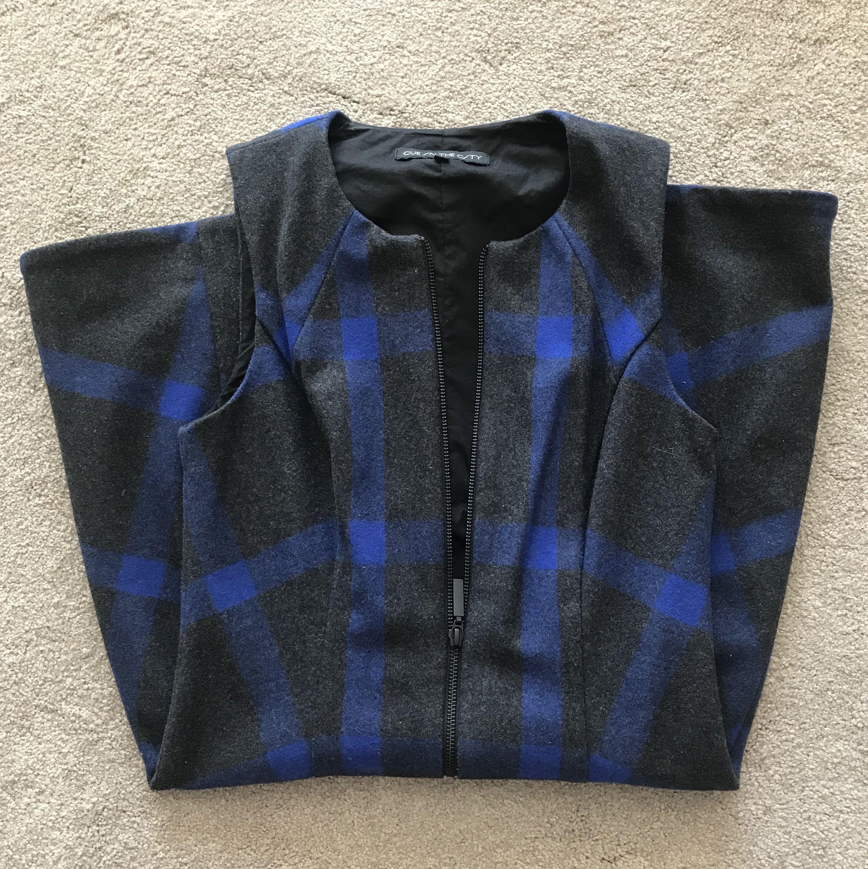 Cue zip dress