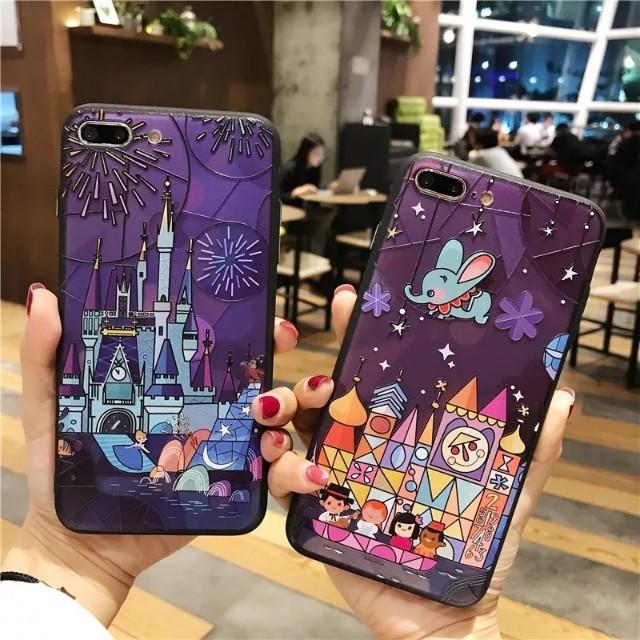 Cute Fairy Tale Castle iPhone X Case
