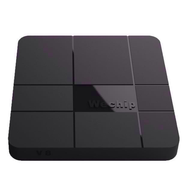 Eliminate your cable and satellite bills with the new wechip v8 tv box amlogic s905w 2.4ghz wifi android 7.1.2 Kodi 17.6
