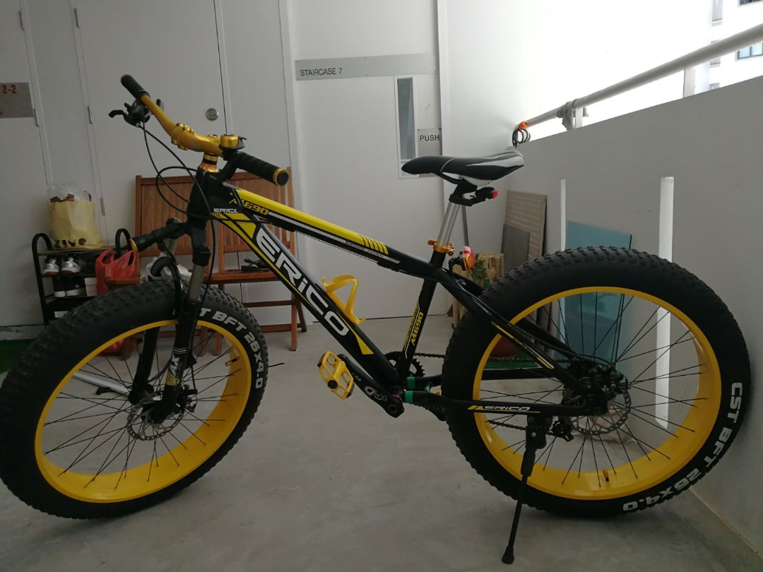a06ab19153f Fat Bike (No Frills), Bicycles & PMDs, Bicycles on Carousell