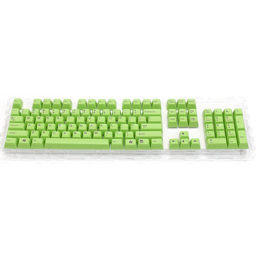 Filco SA Uniform R3 Profile keycaps (By Signature Plastic) - Green