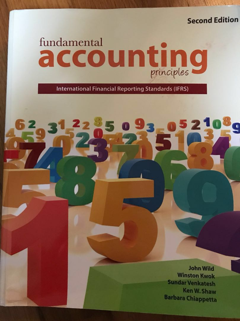 Fundamental Accounting Principles (Second Edition), Books