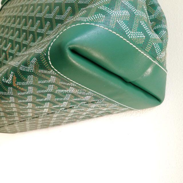 80a7ed733a9 Goyard Bellechasse PM Green