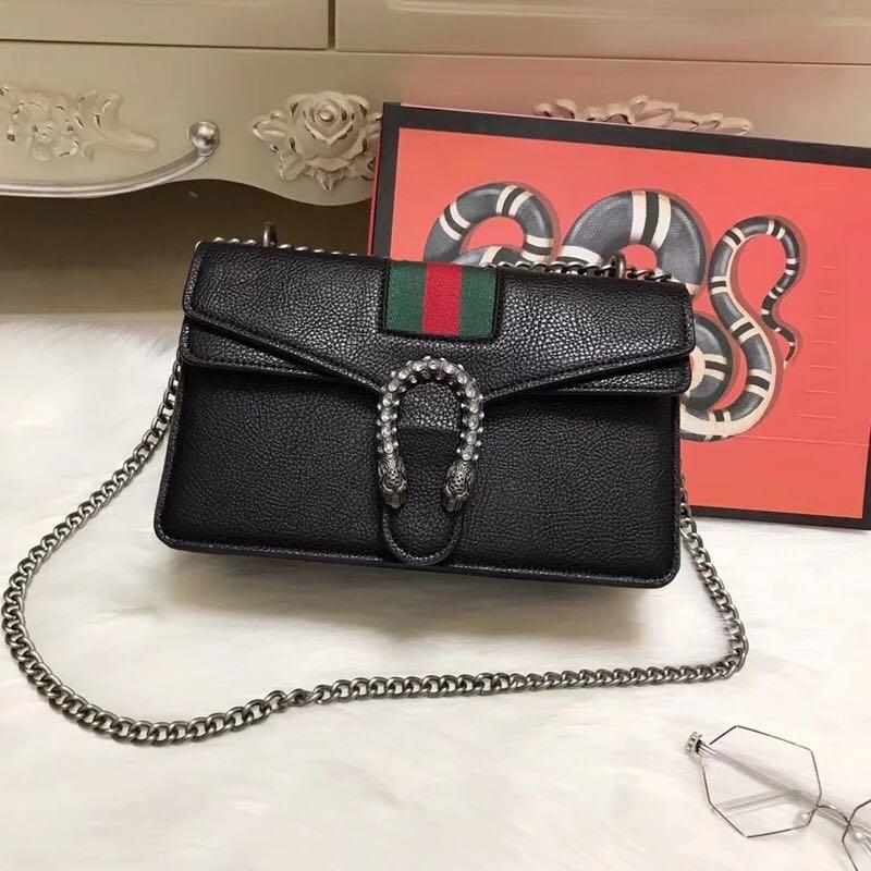 Gucci Dionysus leather shoulder bag