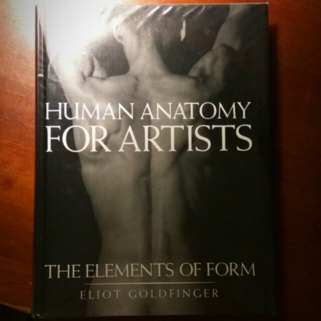 Human Anatomy For Artist By Eliot Goldfinger Books Stationery